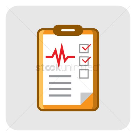 1257683 checklist clipboard medical checklist
