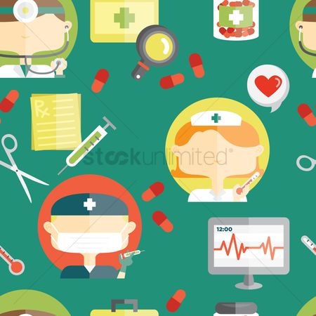 Surgeon : Medical theme background