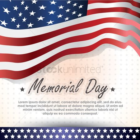 Brave : Memorial day background with text