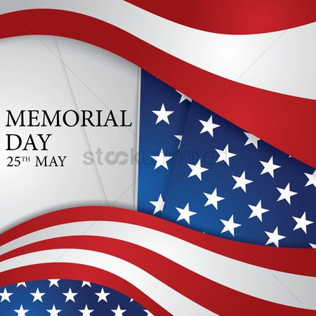Brave : Memorial day background