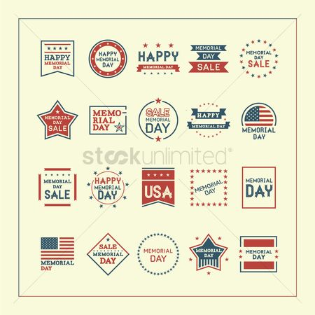 Patriotic : Memorial day collection