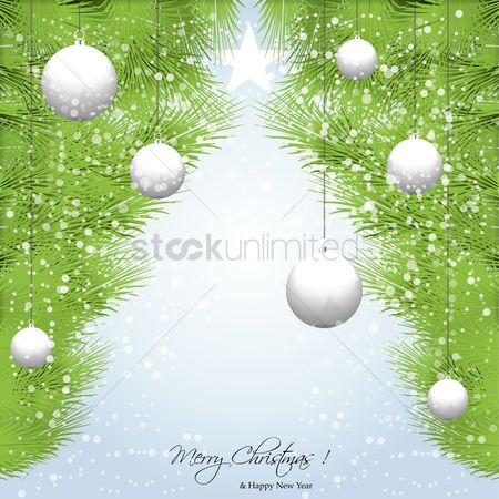 Poster : Merry christmas card