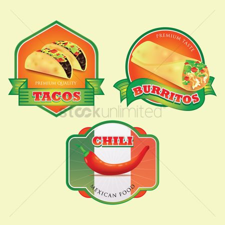 Tricolored : Mexican food collection