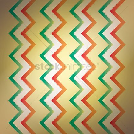 Zig zag : Mexico flag background