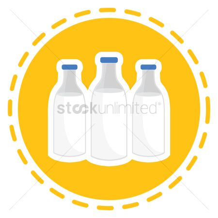 Dairies : Milk bottle