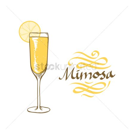 Liquor : Mimosa cocktail
