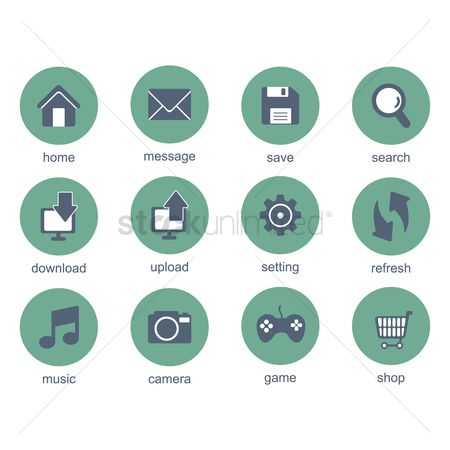 Refresh : Mobile application icons