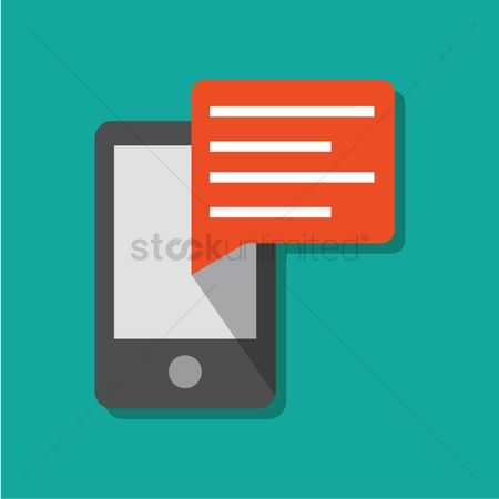 Notification : Mobile chat