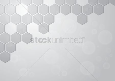 Geometrics : Modern white background