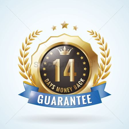 Laurel : Money back guaranteed badge