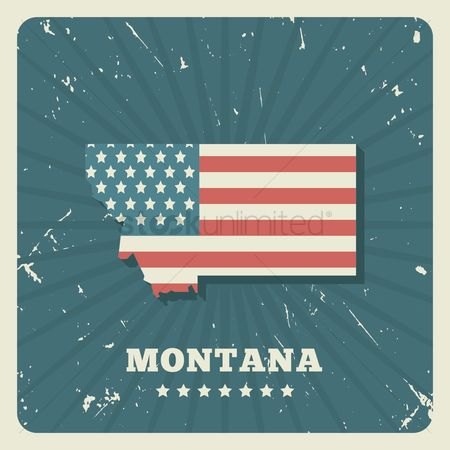 Oldfashioned : Montana map