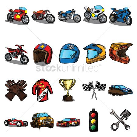 Transport : Motor race collection