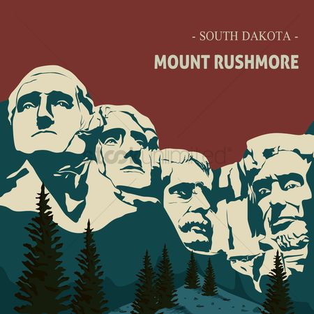 Dakota : Mount rushmore