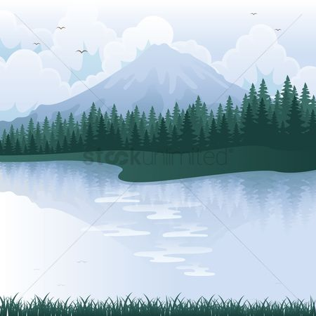 Mountains : Mountain landscape