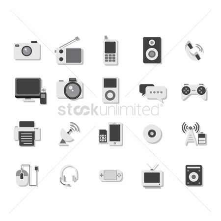 Pendrive : Multimedia icons