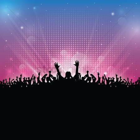 Dancing : Music festival party concept