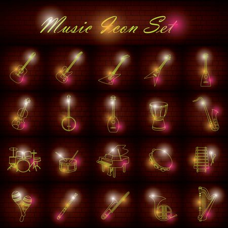 Drums : Music icon set