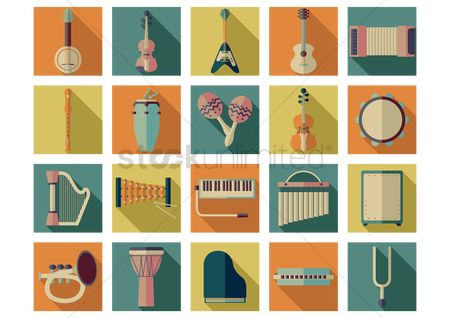 Audio : Music icons