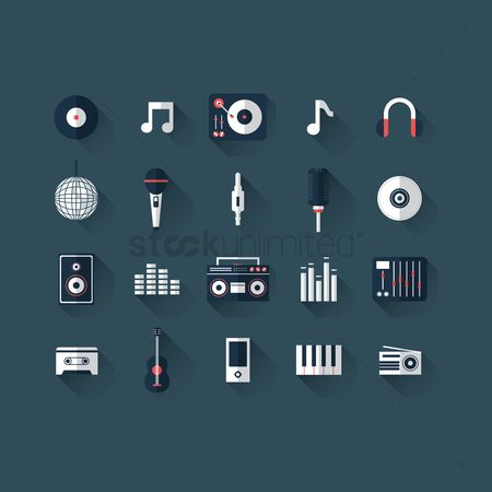 Volume : Music icons