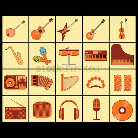 Audio : Musical instruments and equipment
