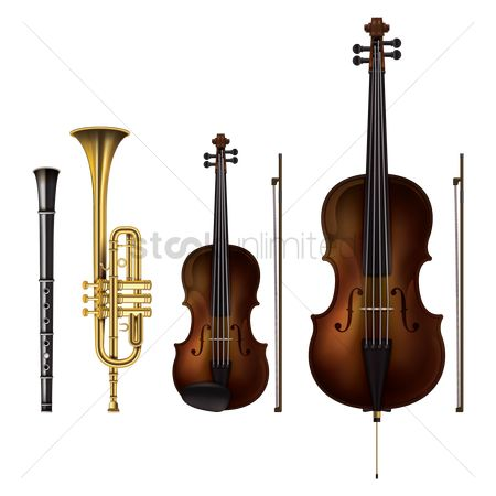 Brass : Musical instruments
