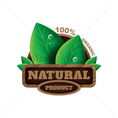 Insignias : Natural product label