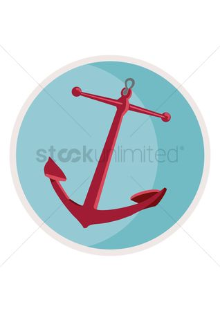 Nautical : Nautical anchor