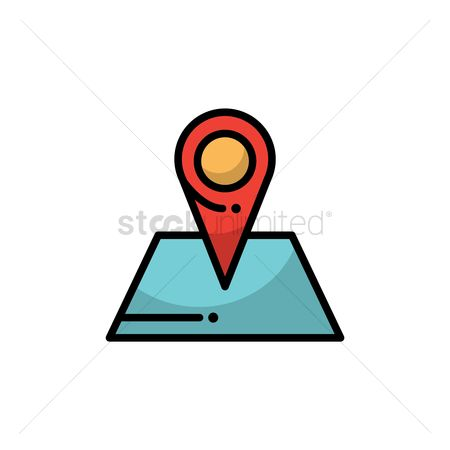 Navigators : Navigation pointer on map