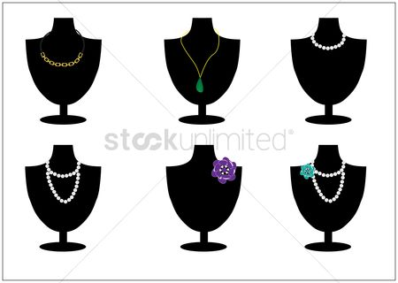 Jewelleries : Necklace collection
