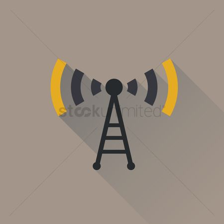 Broadcasting : Network tower