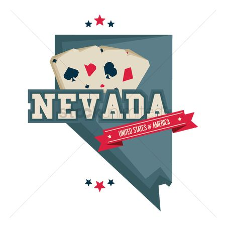 Casinos : Nevada map with casino