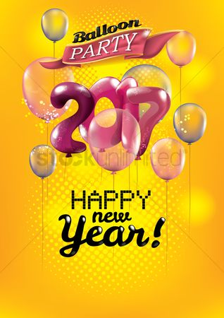 Afresh : New year balloon party