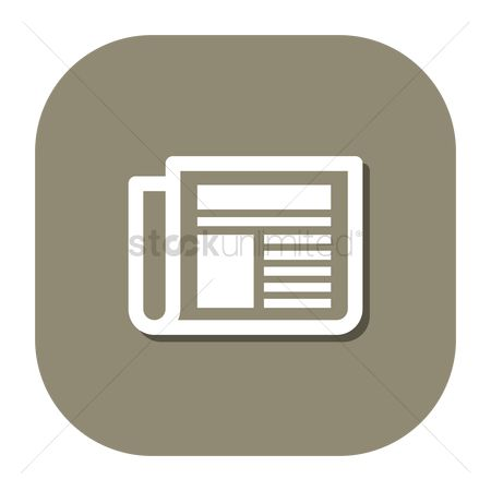Icons news : Newspaper icon