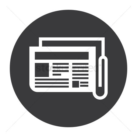 Icons news : Newspaper