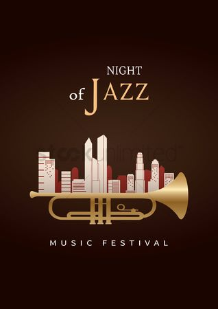 Trumpets : Night of jazz poster