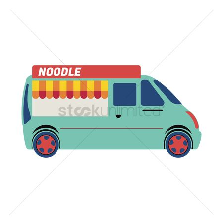 Businesspeople : Noodle truck