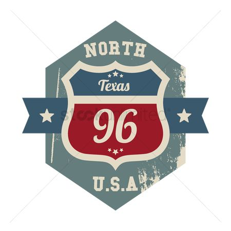 Texas : North texas route 96 label