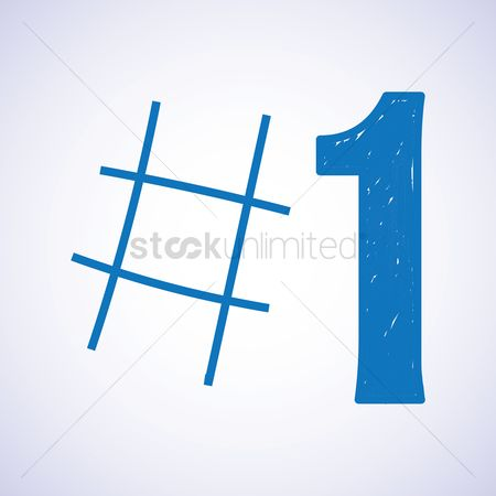 User interface : Number one icon