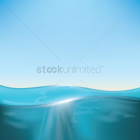 Sunray : Ocean background design