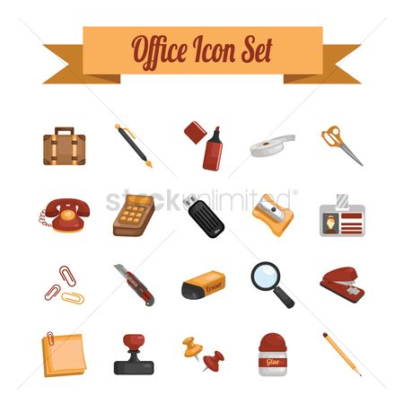 Calculator : Office icon set