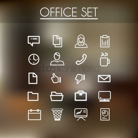 Receivers : Office set