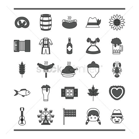 Wheats : Oktoberfest icons