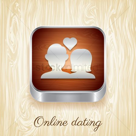 Online dating icon : Online dating button