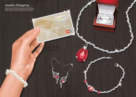 Red : Online jewelry shopping
