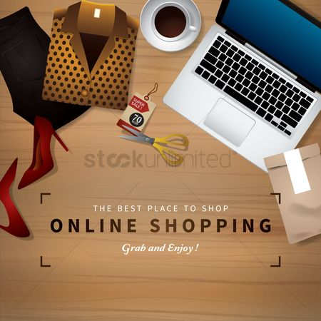 Online shopping : Online shopping design