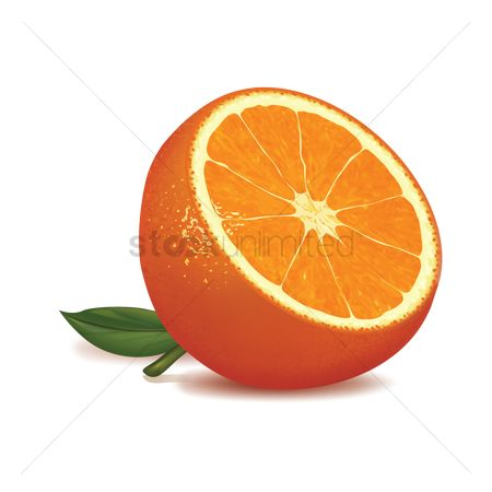 Slices : Orange slice