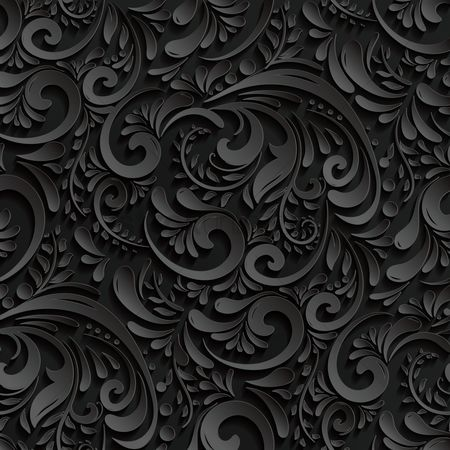 Backdrops : Ornate wallpaper