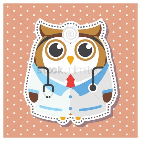 Surgeon : Owl as a doctor