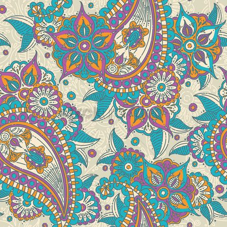 Patterns : Paisley backgroung