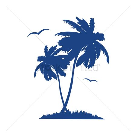 Summer : Palm trees
